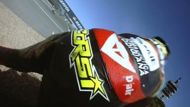 Jerez 2014 - Moto2 - RACE - Action - Simone Corsi - Crash