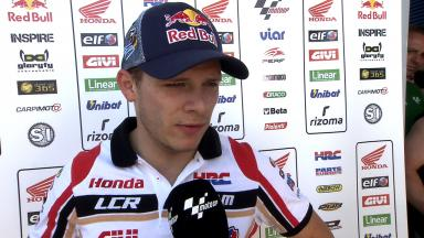 Arm pump seems to have returned for Bradl