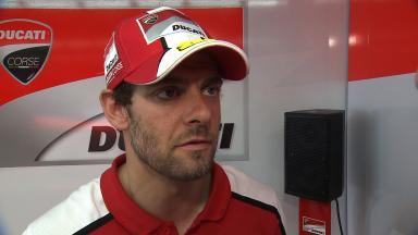 Crutchlow unhappy after Jerez DNF