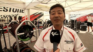 Jerez 2014 - MotoGP - RACE - Interview - Hiroshi Aoyama