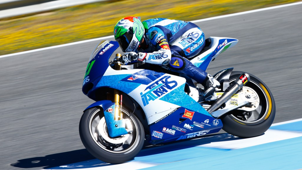 Franco Morbidelli, Italtrans Racing Team, SPA WUP
