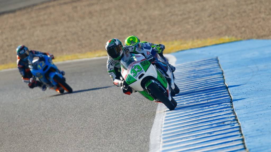 Enea Bastianini, Junior Team GO&FUN Moto3, SPA WUP