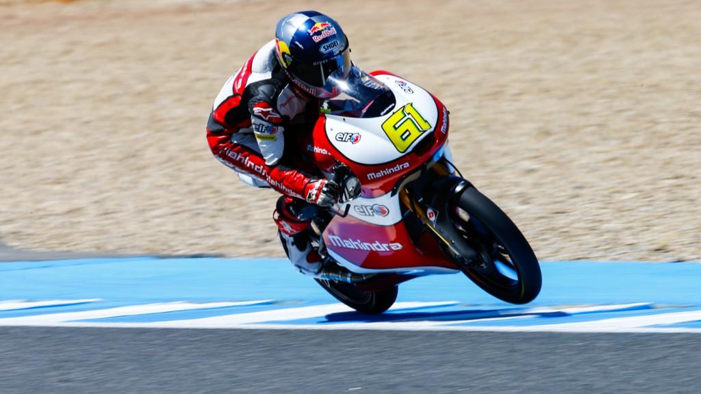 Arthur Sissis, Mahindra Racing, SPA WUP