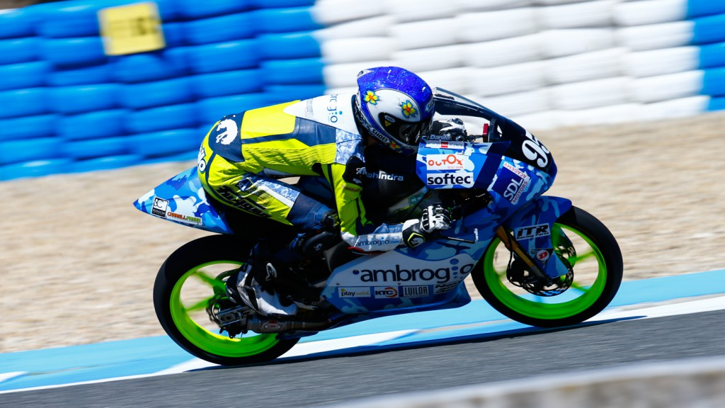 Jules Danilo, Ambrogio Racing, SPA WUP