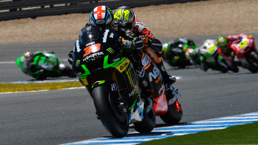 Bradley Smith, Monster Yamaha Tech 3, SPA RACE