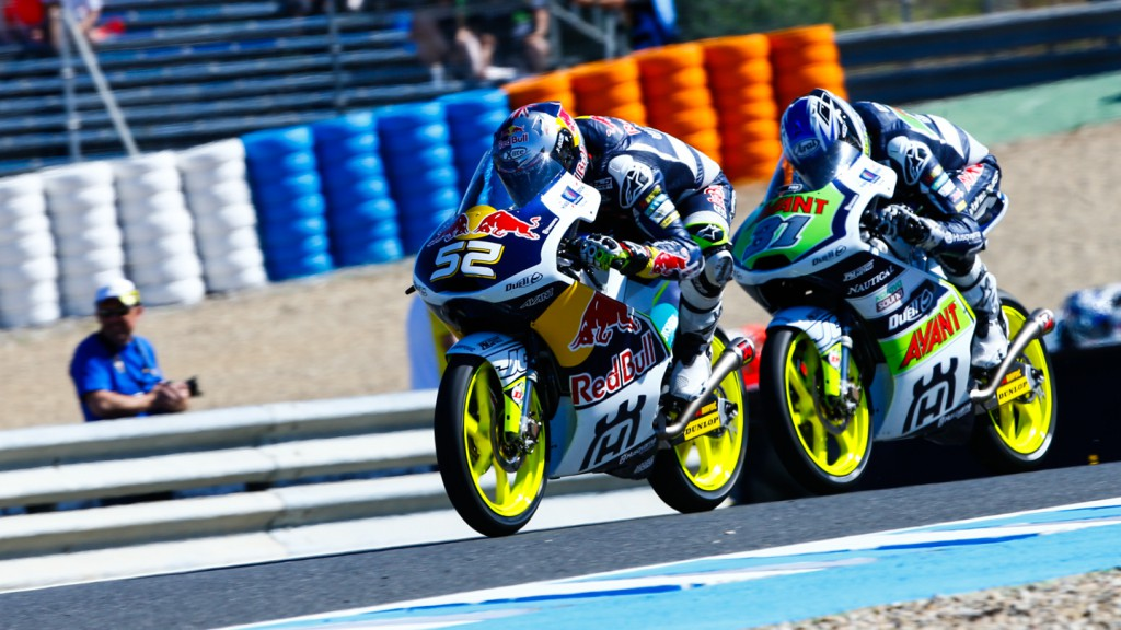 Niklas Ajo, Danny Kent, Avant Tecno Husqvarna Ajo, Red Bull Husqvarna Ajo, SPA RACE