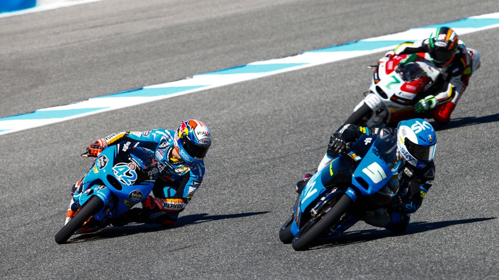 Romano Fenati, Alex Rins, SKY Racing Team  VR46, Estrella Galicia 0,0, SPA,