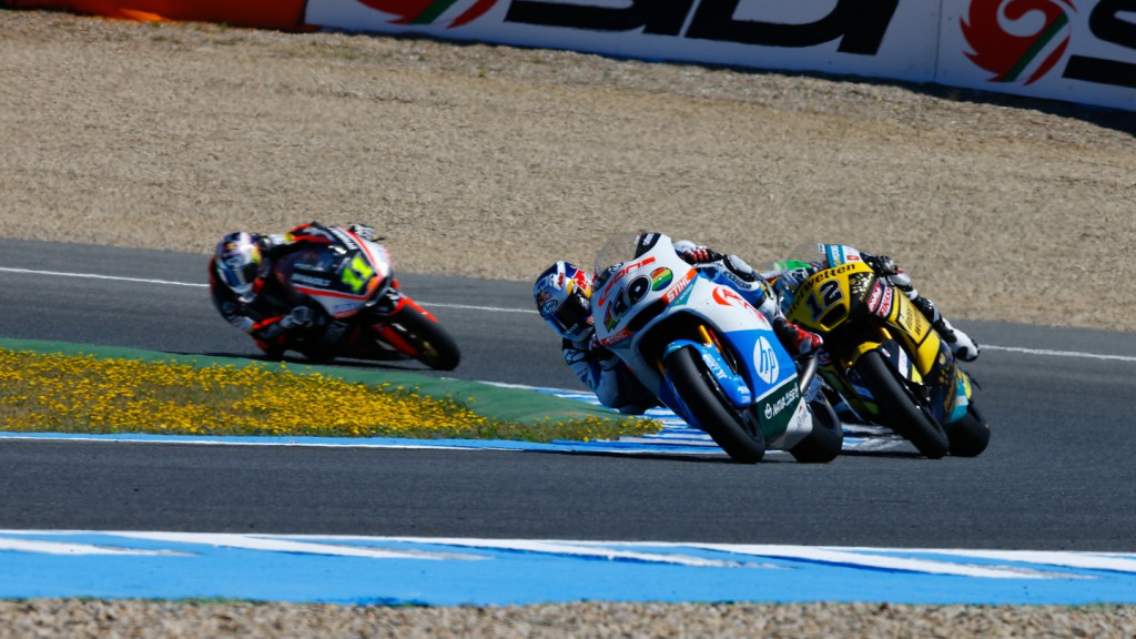 Thomas Luthi, Maverick ViÑales, Interwetten Paddock Moto2, Pons HP 40, SPA RACE