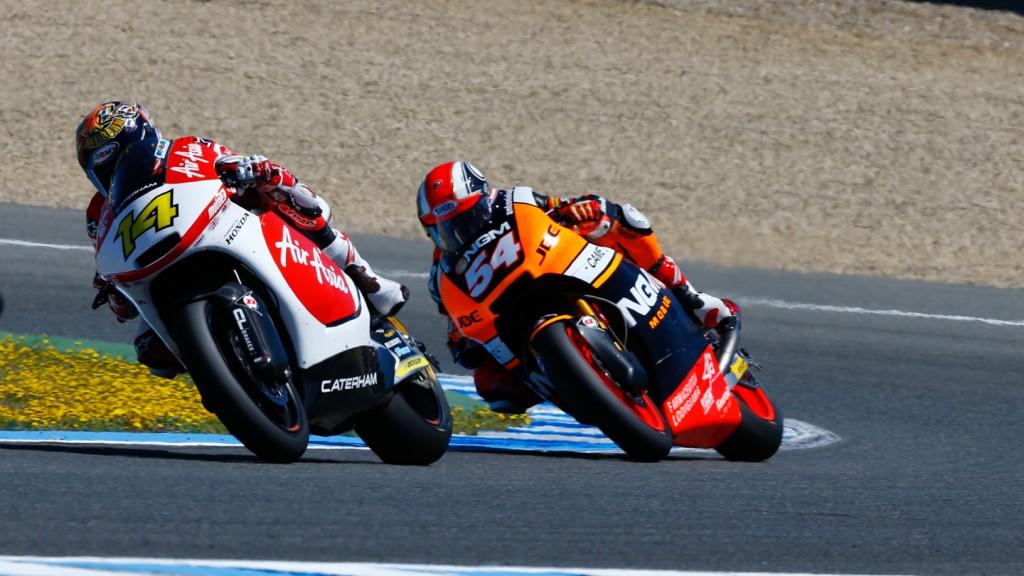 Mattia Pasini, NGM Forward Racing, SPA RACE