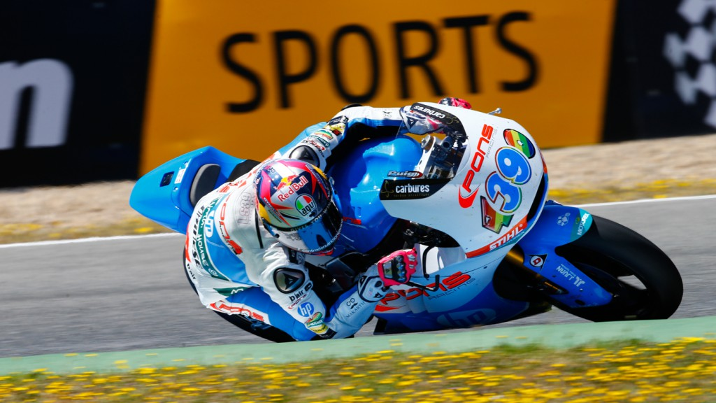Luis Salom, Pons HP 40, SPA RACE