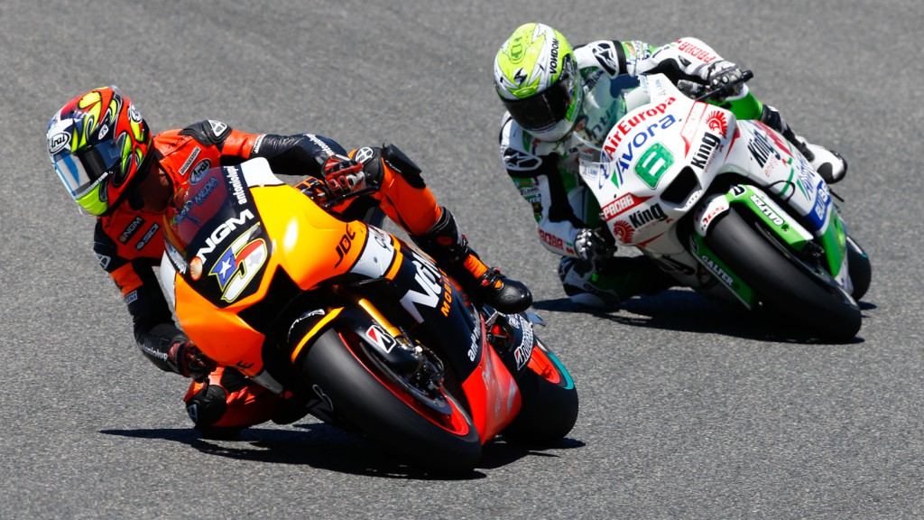 Hector Barbera, Colin Edwards, Avintia Racing, NGM Forward Racing, SPA RACE