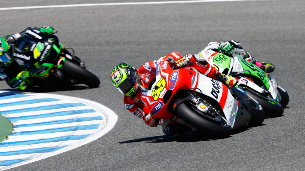 Cal Crutchlow, Alvaro Bautista, Ducati Team, GO&FUN Honda Gresini, SPA RACE