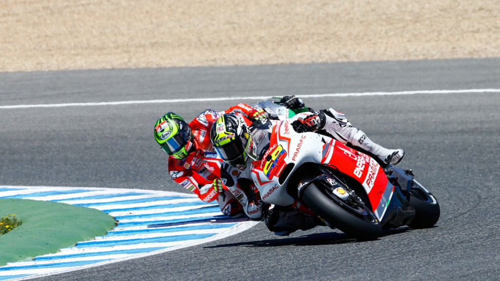 Cal Crutchlow, Yonny Hernandez, Ducati Team, Pramac Racing, SPA RACE