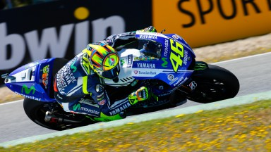 Valentino Rossi, Movistar Yamaha MotoGP, SPA RACE