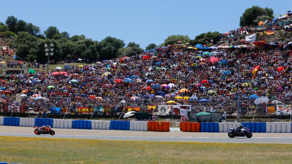 Jorge Lorenzo, Dani Pedrosa, Movistar Yamaha MotoGP, Repsol Honda Team, SPA RACE