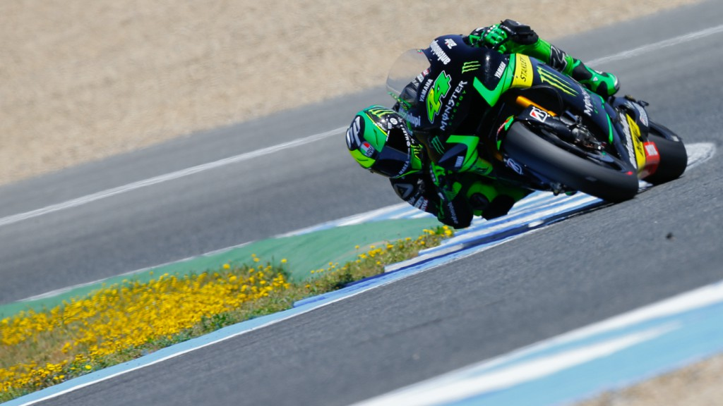 Pol Espargaro, Monster Yamaha Tech 3, Jerez Test