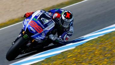 Jorge Lorenzo, Movistar Yamaha MotoGP, Jerez Test