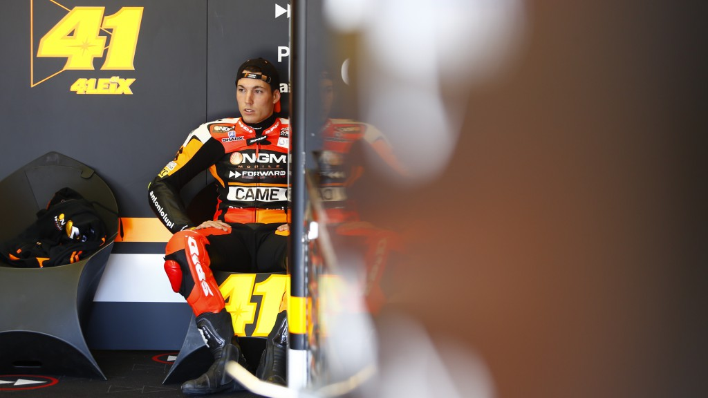Aleix Espargaro, NGM Forward Racing, Jerez Test