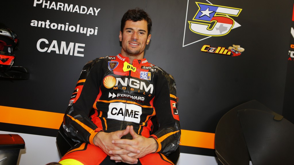 Simone Corsi, NGM Forward Racing, Jerez Test