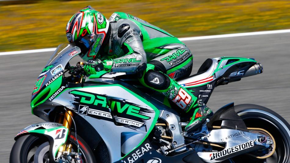 motogp.com · Nicky Hayden, Drive M7 Aspar, Jerez Test