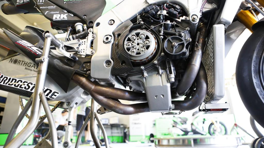 Nicky Hayden, Drive M7 Aspar, Jerez Test