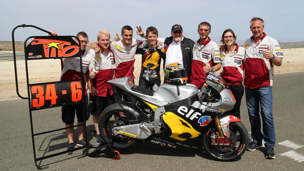 Esteve Rabat, Marc VDS Racing Team,  Almería Test