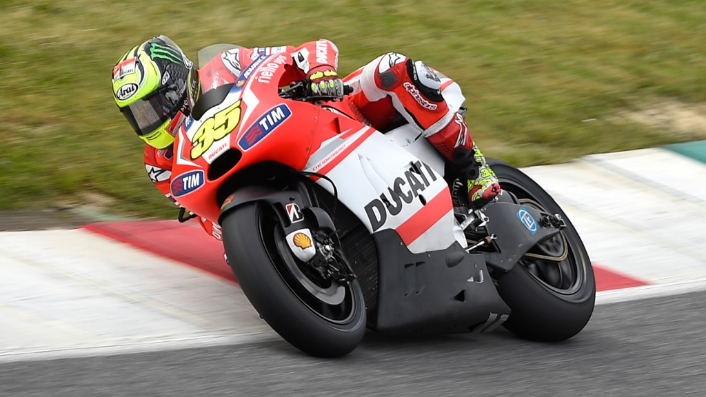 Cal Crutchlow, Ducati Team - May Mugello Test