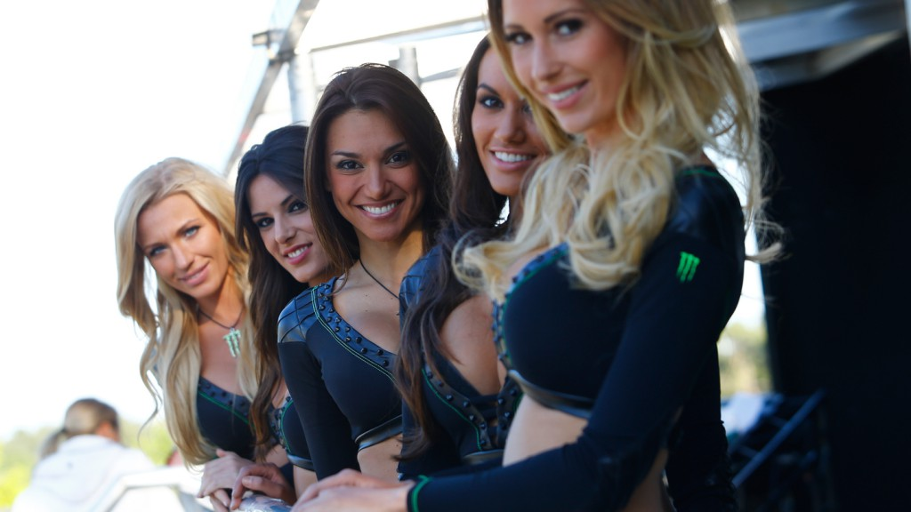 Monster Energy Girls - Monster Energy Pit Bike Event