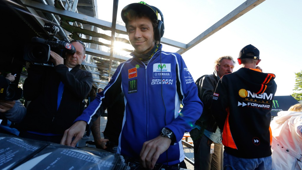Valentino Rossi, Movistar Yamaha Team - Monster Energy Pit Bike Event