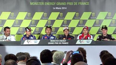 Monster Energy Grand Prix de France: Pre-event Press Conference