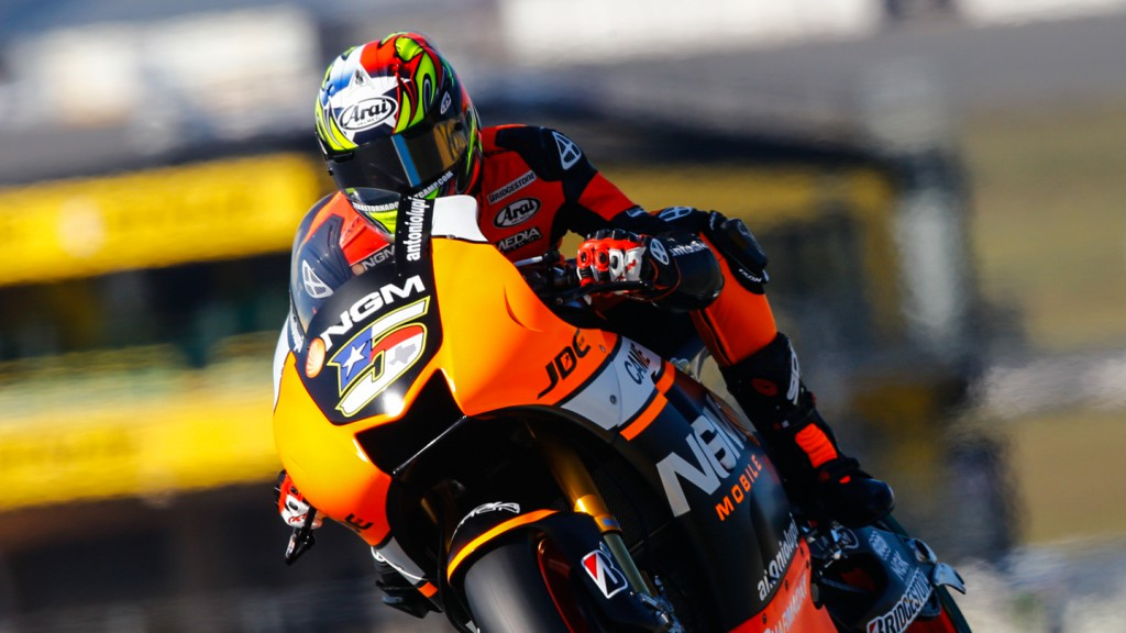 Colin Edwards, NGM Forward Racing, FRA FP2