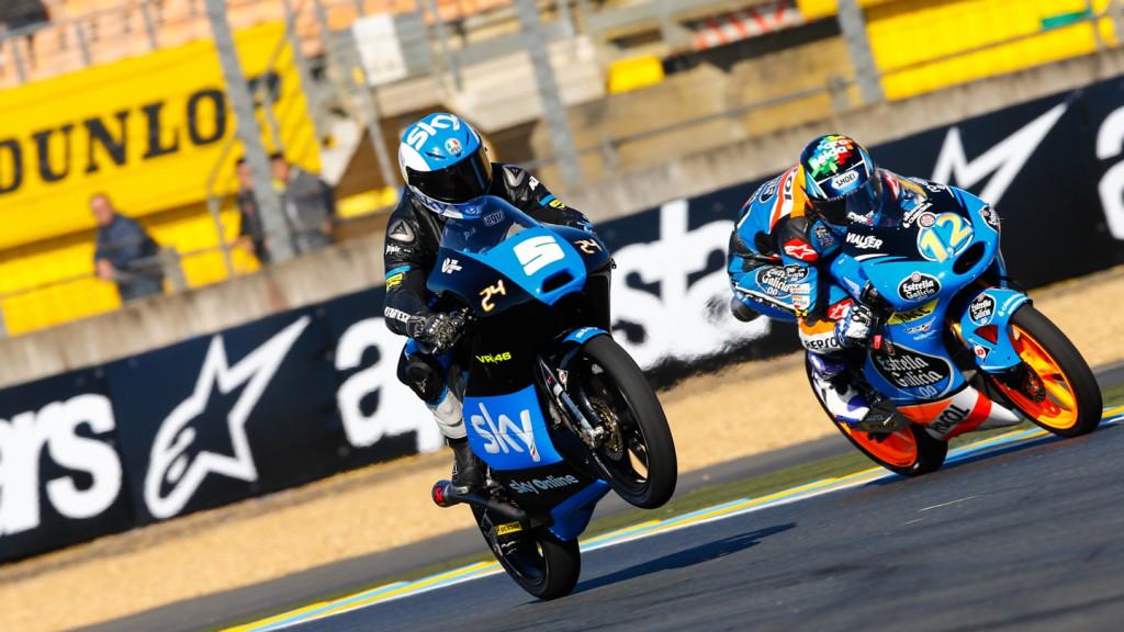 Romano Fenati, Alex Marquez, SKY Racing Team VR46, Estrella Galicia 0,0, FRA FP2