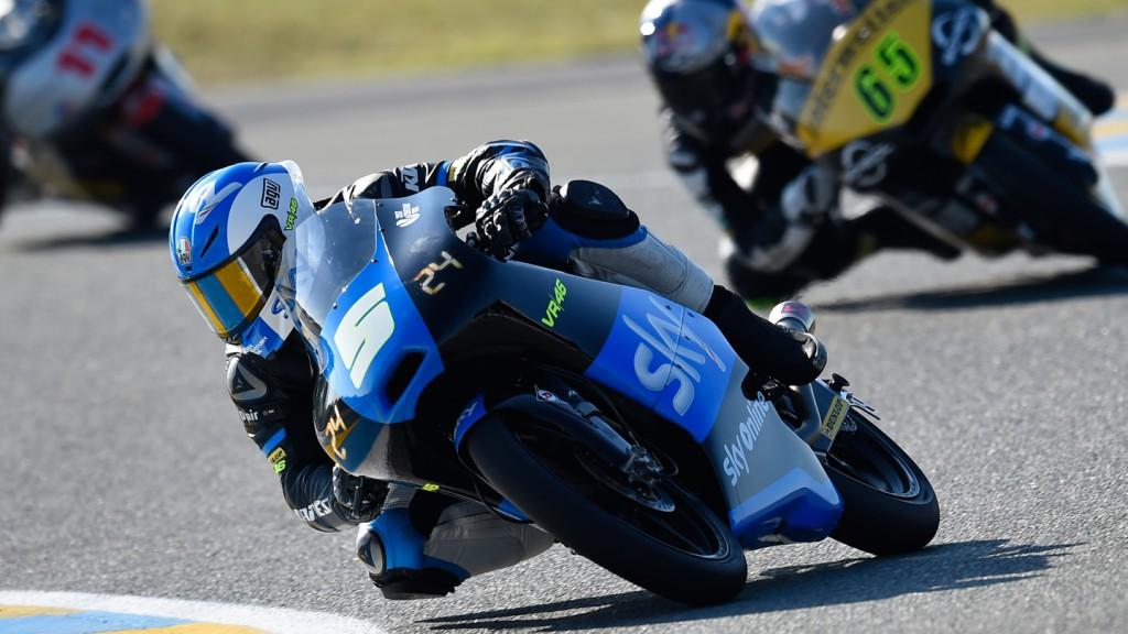 Romano Fenati, SKY Racing Team  VR46, FRA FP2