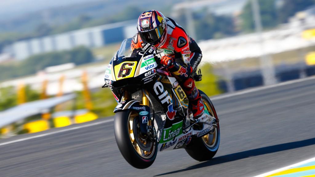 Stefan Bradl, LCR Honda MotoGP, FRA FP1