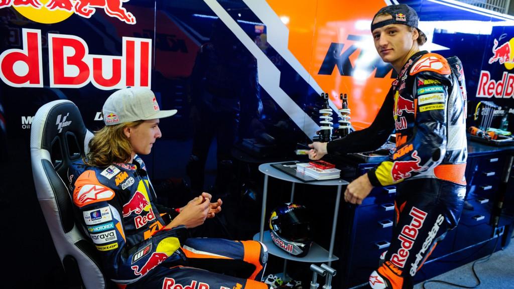 Karel Hanika, Jack Miller, Red Bull KTM Ajo, FRA FP2