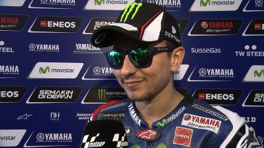 Lorenzo much happier with tyre choices