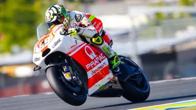 Andrea Iannone, Pramac Racing, FRA FP2