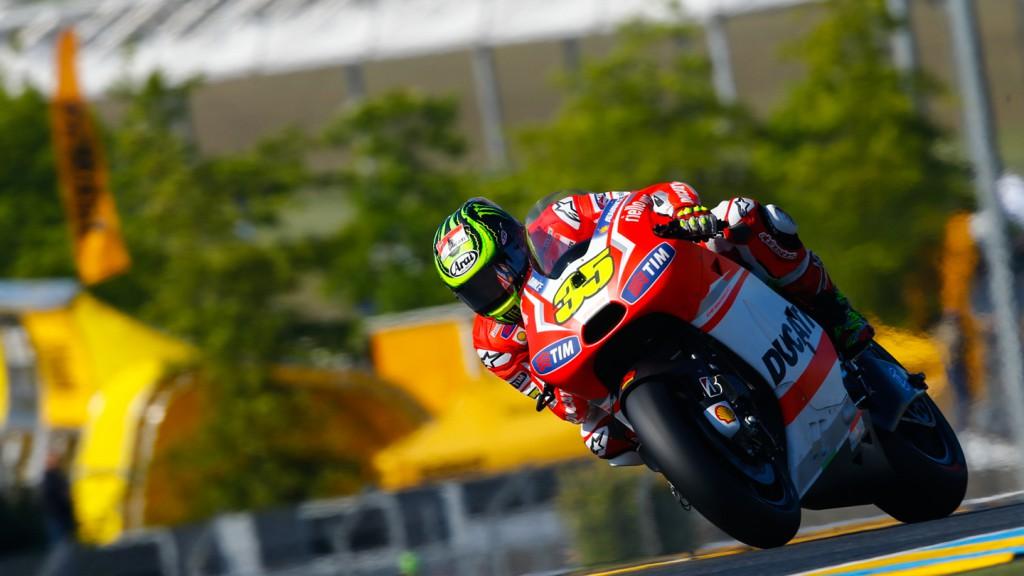 Cal Crutchlow, Ducati Team, FRA FP2
