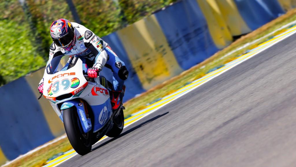Luis Salom, Pons HP 40, FRA FP2