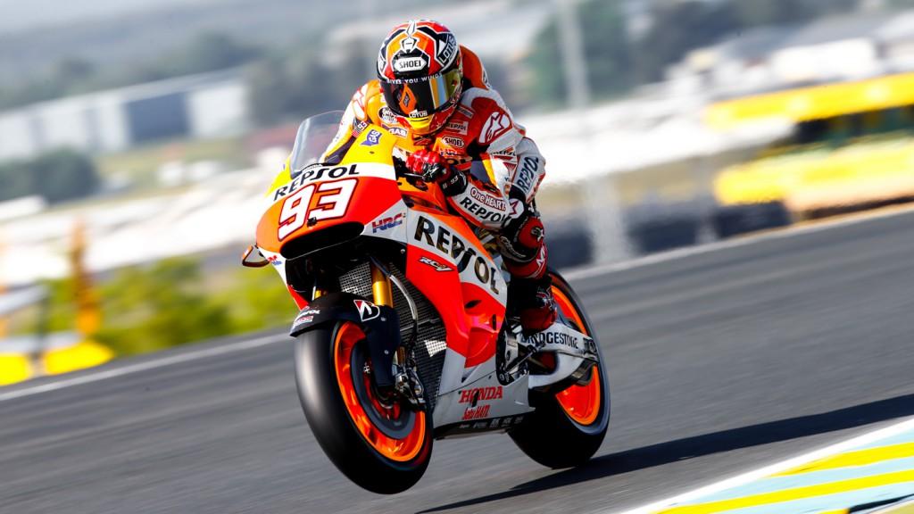 Marc Marquez, Repsol Honda Team, FRA FP1