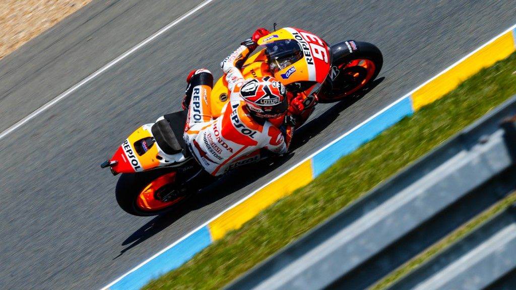 Marc Marquez, Repsol Honda Team, FRA FP2