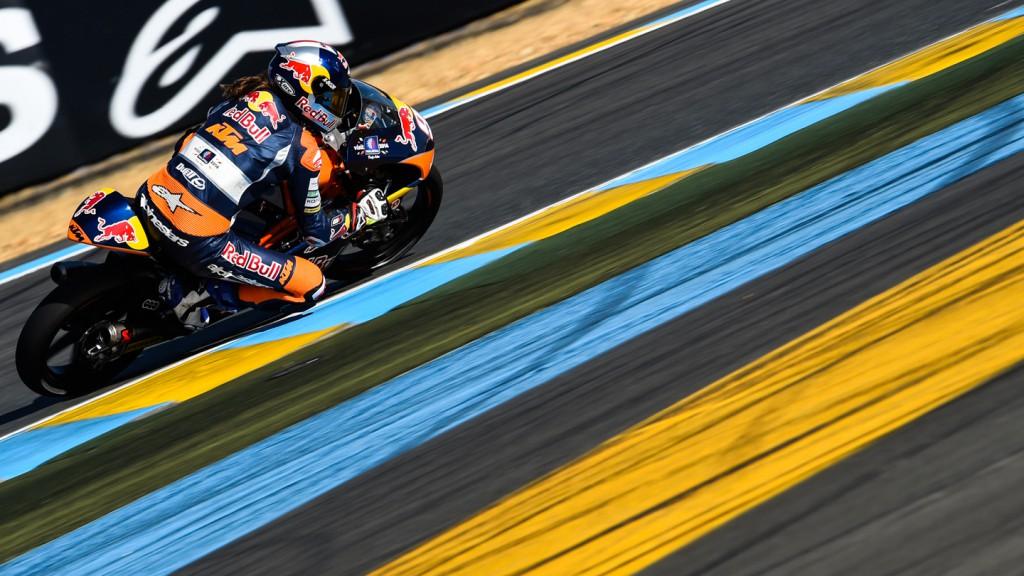 Karel Hanika, Red Bull KTM Ajo, FRA FP1
