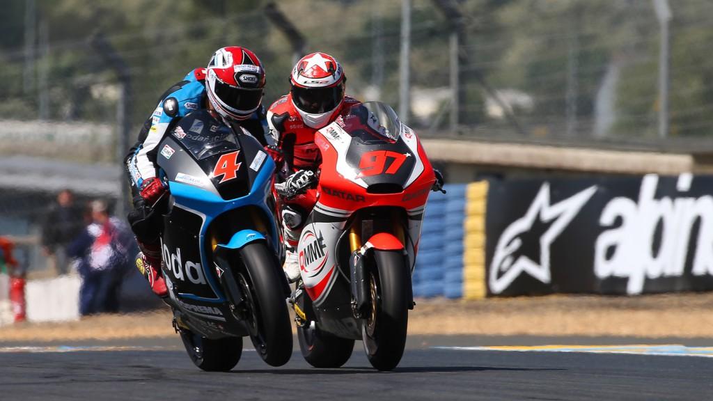 Randy Krummenacher, Roman Ramos, IodaRacing Project, QMMF Racing Team, FRA FP2
