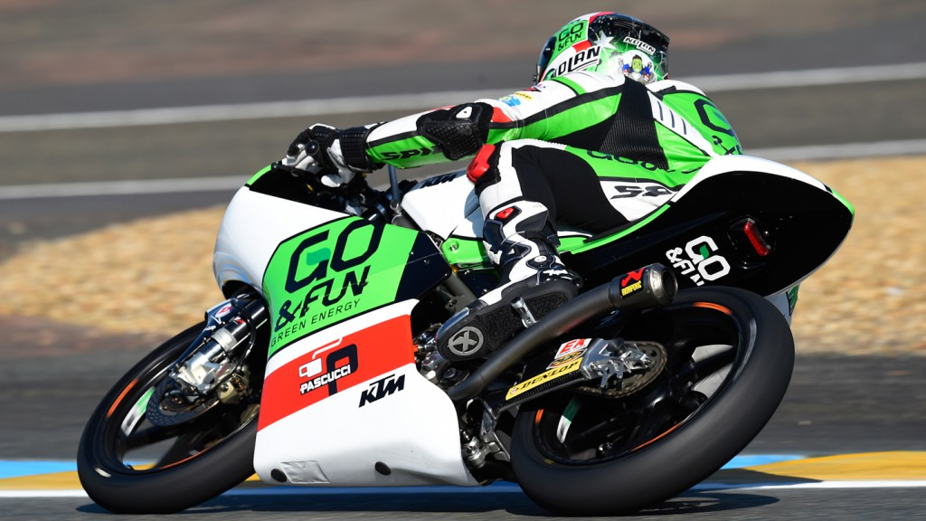 Enea Bastianini, Junior Team GO&FUN Moto3, FRA FP2