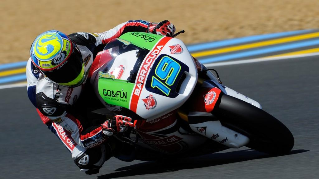 Xavier Simeon, Federal Oil Gresini Moto2, FRA FP2