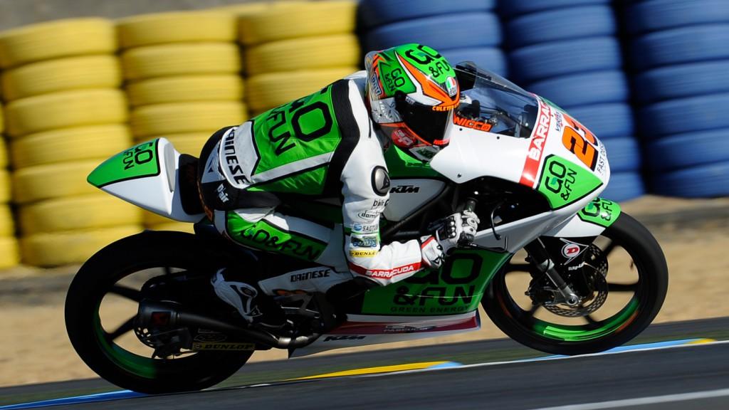 Niccolò Antonelli, Junior Team GO&FUN Moto3, FRA FP2