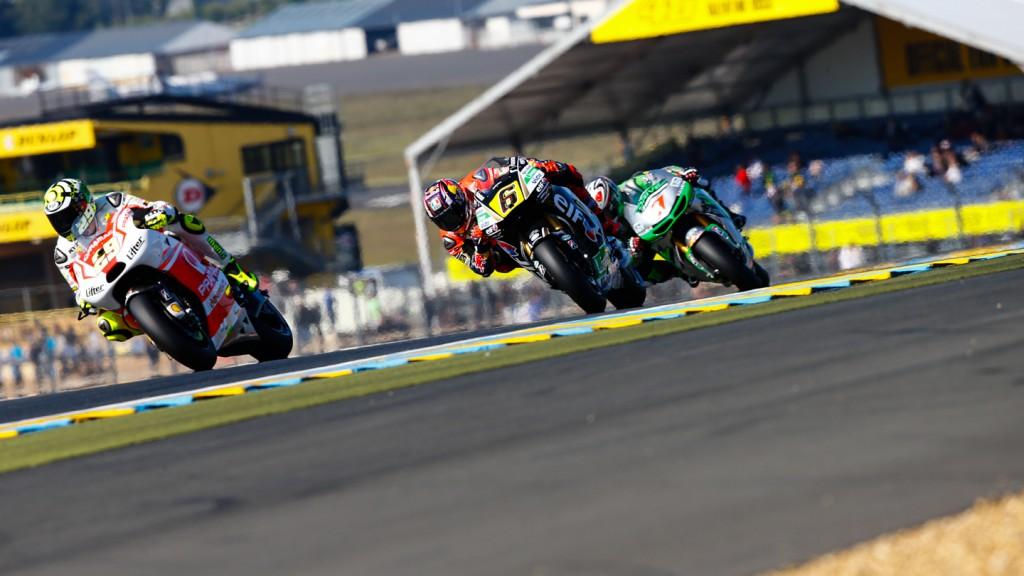 Hiroshi Aoyama, Stefan Bradl, Andrea Iannone, Drive M7 Aspar, LCR Honda MotoGP, Pramac Racing, FRA FP2