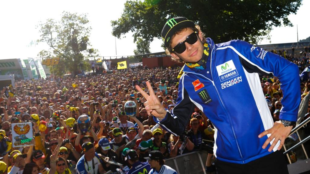 Valentino Rossi, Le Mans' Espace Rencontre