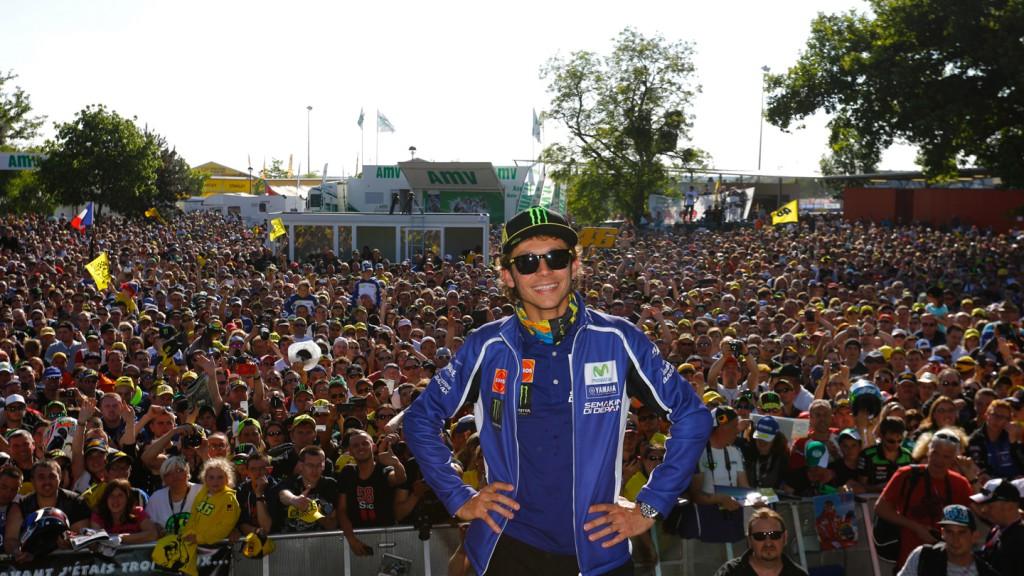 Valentino Rossi, Le Mans\' Espace Rencontre