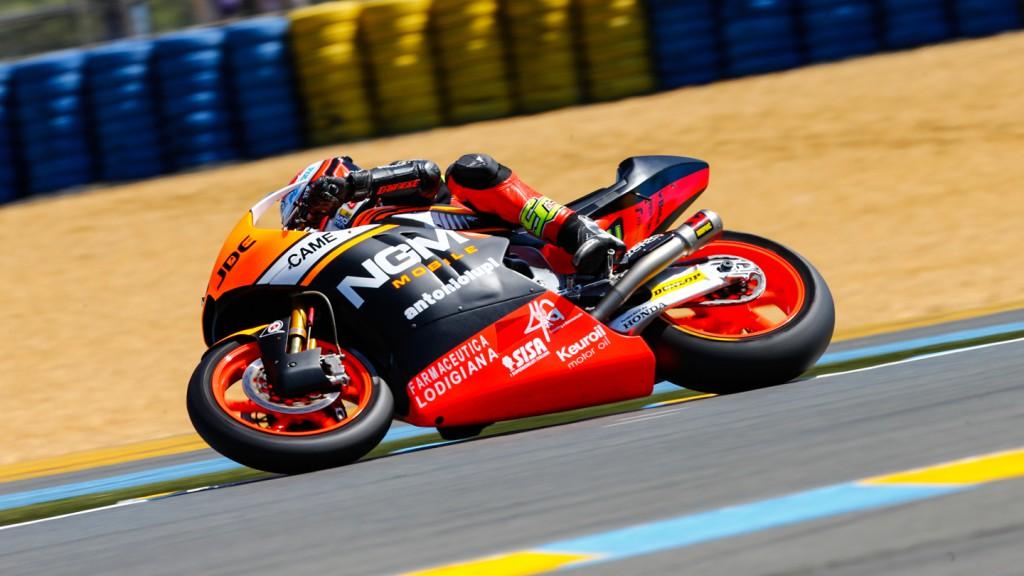 Simone Corsi, NGM Forward Racing, FRA QP